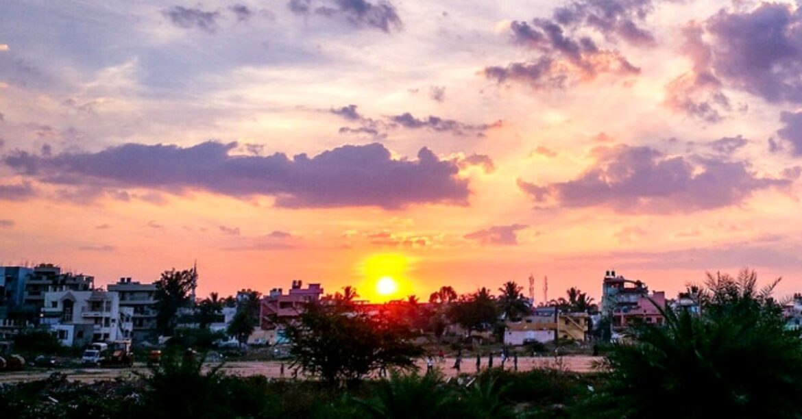 Sunset – A Poem For Bengaluru