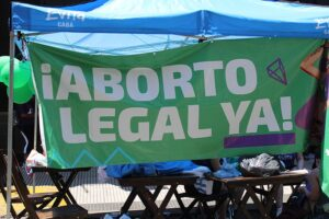 legalise abortion poster in Argentina