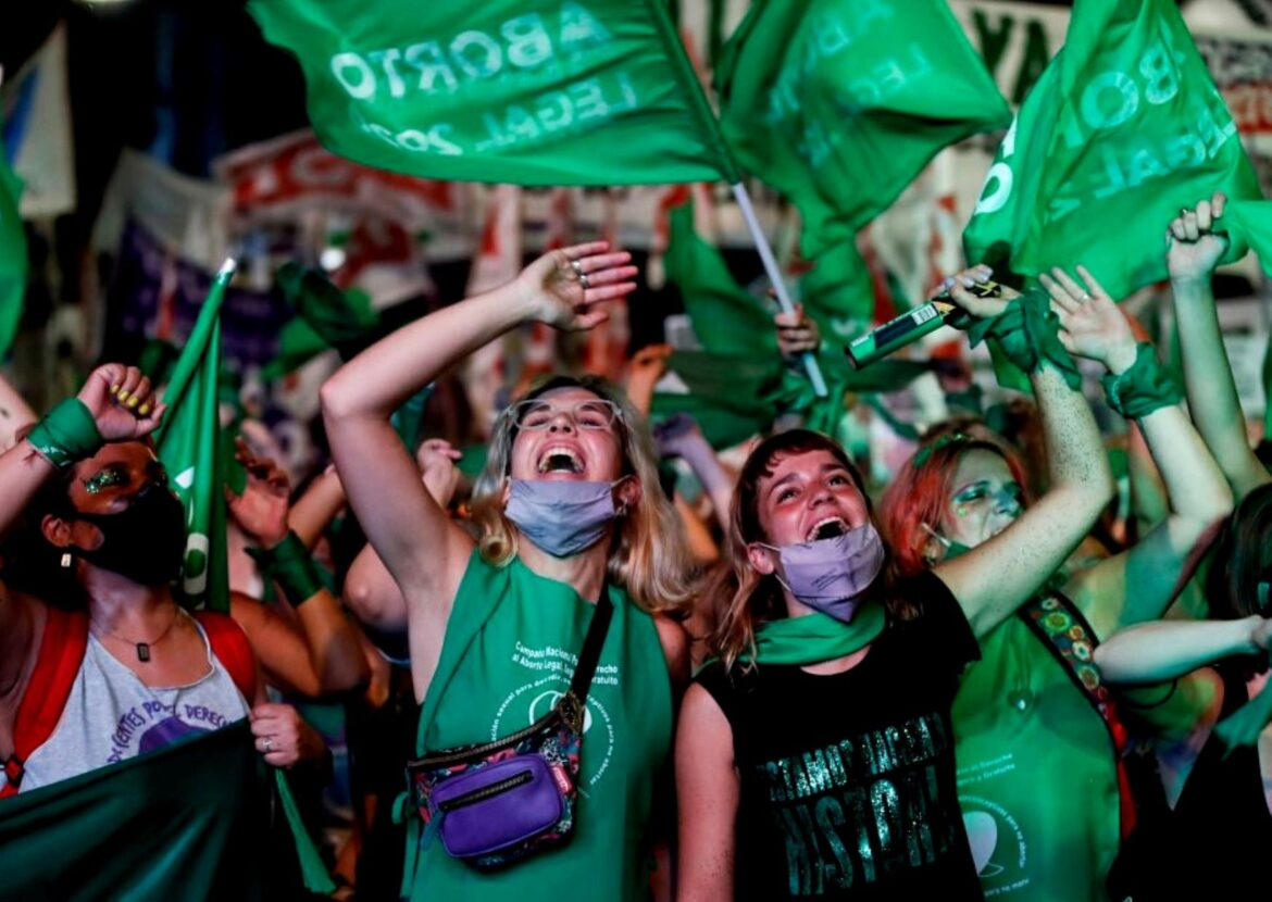 Argentina became the largest Latin American nation to legalise abortion: The story of women's fight for decades