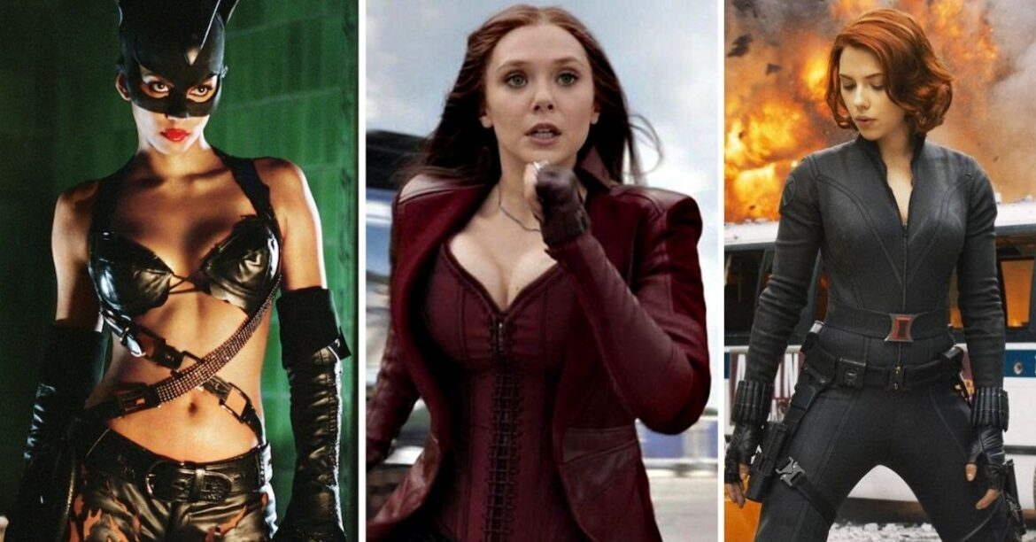 Bodysuits, Corsets, Cleavage & Cape: Female Superheroes on Screen Under the Male Gaze