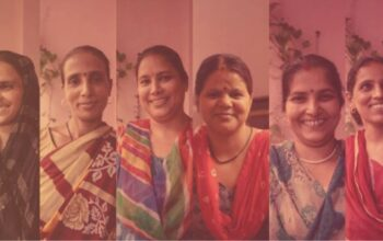 a collage showing the women of Khwaab